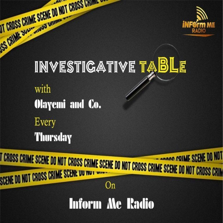 Investigative Table Podcast